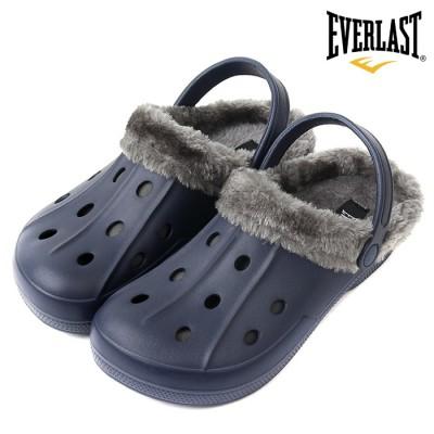 에버라스트 방한 EVA 샌들_네이비 / 겨울 남성 여성 털 신발