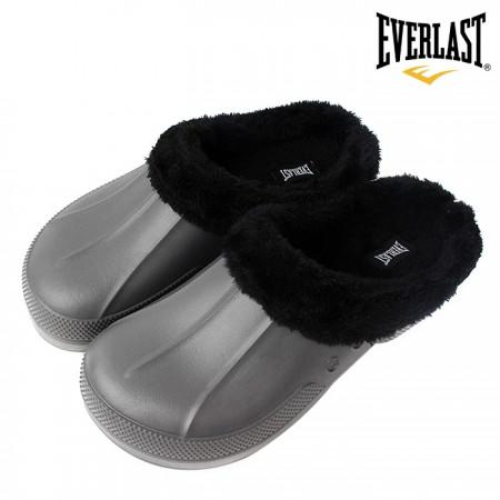 에버라스트 방한 EVA 슬리퍼_그레이 / 겨울 남성 여성 털 신발