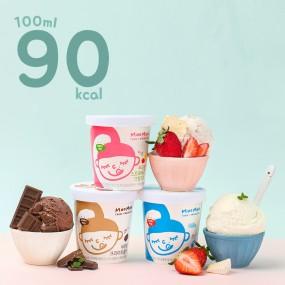 무무팜 동물복지 유기농 아이스크림 파인트3종 이미지