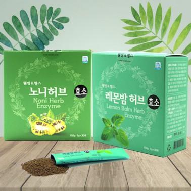 [웰빙앤헬스] 노니 / 레몬밤 효소 허브 발효효소 복합활성효소 이미지