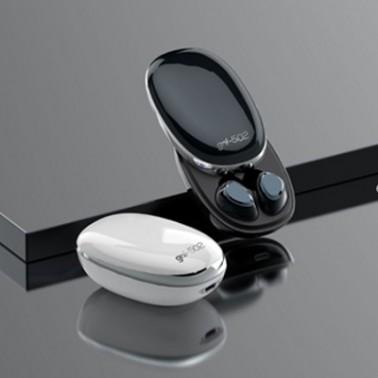 [엑스트라] gni-502 TWS 블루투스 이어폰 (화이트,블랙) 이미지