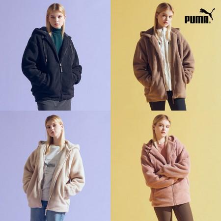 [아자픽] PUMA 푸마 소프트터치 보아 플리스자켓 1종 여성 이미지