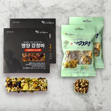 [신궁전통한과] 김규흔명인 영양강정바6개 + 고소한강정 30g (무료배송) 이미지
