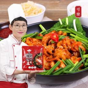 팽현숙 최양락의 옛날 맛있는 주꾸미(180g / 1~2인분) 3팩+소스 3팩 이미지