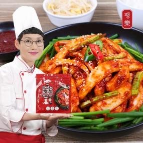팽현숙 최양락의 맛있는 오징어(180g / 1~2인분) 3팩+소스 3팩 이미지