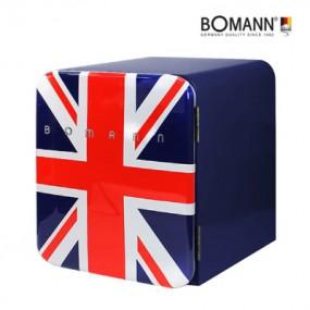 [Bomann] 보만 44리터 1등급 레트로 클래식 유니언잭 냉장고 KS2043 이미지