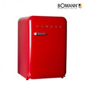 [Bomann] 보만 106리터 1등급 레트로 클래식 냉장고 레드 RF1063R / 와인렉포함 이미지