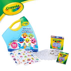 [Crayola] 크레욜라 아기상어 50 아트케이스 이미지