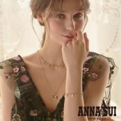 [화이트데이] ANNA SUI  안나수이 스털링 실버925 이니셜 팔찌 이미지