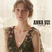 [화이트데이] ANNA SUI  안나수이 스털링 실버925 이니셜 목걸이 이미지
