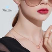 [화이트데이] [티르리르] 버블목걸이,귀걸이 세트 이미지