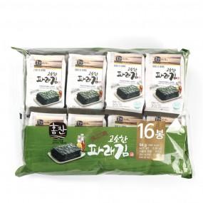 맛난 고흥 파래김 4g x (16봉) [신선씨푸드] 이미지