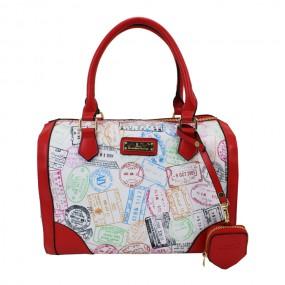 [ALV] Passport Shoulder Bag Bianco 에이엘브이 여자 숄더백 이미지