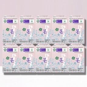 [유기농본] 생리대 팬티라이너 34P X 10팩 무료배송 이미지