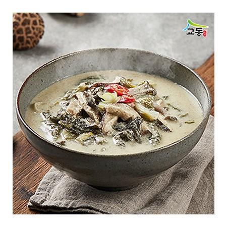 [교동식품] 우거지버섯들깨탕 500g(실온) 이미지