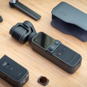 [개인방송장비] DJI POCKET 2 Creator Combo 스마트폰 핸드 짐벌 카메라(풀세트) 이미지