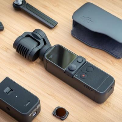 [개인방송장비] DJI POCKET 2 Creator Combo 스마트폰 핸드 짐벌 카메라(풀세트)