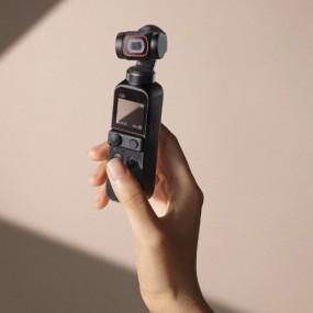[개인방송장비] DJI POCKET 2 스마트폰 핸드 짐벌 셀카봉 카메라 이미지