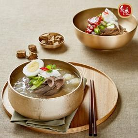 [교동식품] 하우촌 칡냉면 10인분(칡면5+칡육수5+비빔5) (냉동) 이미지