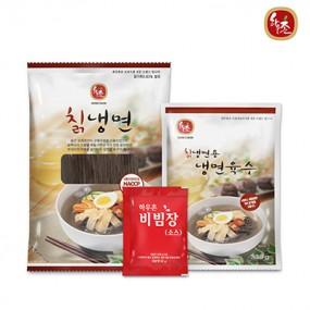 [교동식품] 하우촌 칡냉면 20인분(칡면10+칡육수10+비빔10) (냉동) 이미지