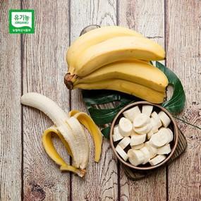 공정무역/유기농 인증 만나 바나나 3송이 (2.7kg 내외) [진원] 이미지
