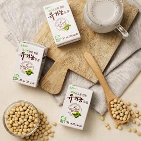 [삼육] 콩콩아이 유기농 국산콩 두유 24팩! (135ml) 이미지