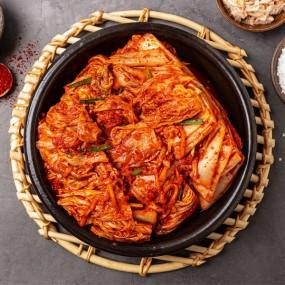 안동마가 들어가 있는 국내산 우리네 포기김치,맛(썰어놓은)김치,깍두기,총각무,백김치 이미지