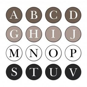 토디토 차량용방향제 송풍구 -알파벳 이미지