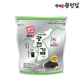 [광천김] 백제 김자반(10봉) + 올리브 돌자반(10봉) 1BOX (총 20봉) 이미지