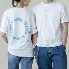 [폴스부띠끄] NO BORING(노보링) 티셔츠 5종택1 이미지