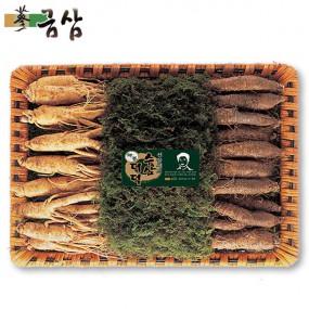 [설이왔소][금삼]수삼 더덕세트 수삼 500g+더덕 500g (수삼12-15편/더덕15-25뿌리 이미지