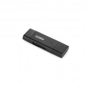 [코시]라드 타입C OTG카드리더(USB3.0,PC겸용) CR2021C 이미지