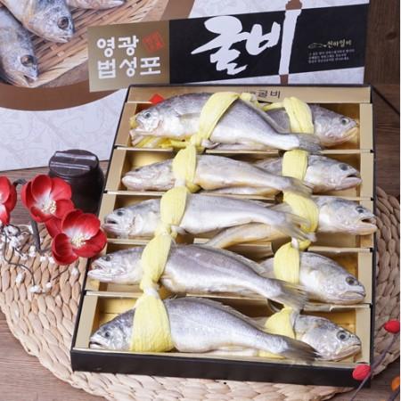 [설이왔소][백수수산] 법성포 영광 굴비 선물용 1.3kg (19~22cm 내외 10미) 이미지