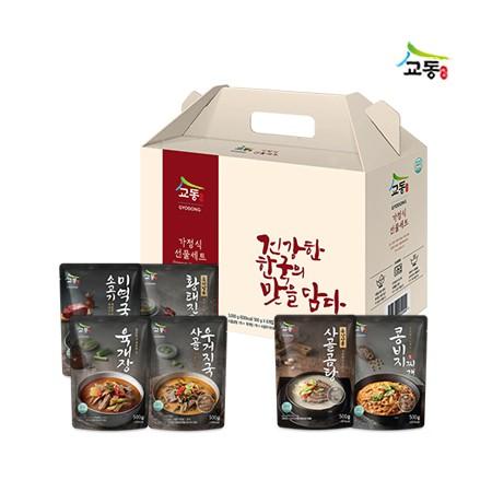 [설이왔소][교동식품]  BEST 실온탕 6종 선물세트 이미지
