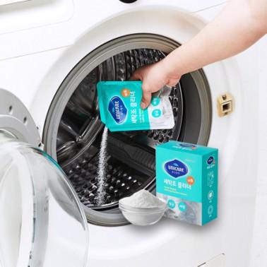 [지팔자]★제조사 직소싱_과탄산나트륨으로 만든 세탁조클리너★[유니케어] 세탁조클리너 200g x 4개입 통돌이 드럼 세탁기 겸용 통세척 이미지