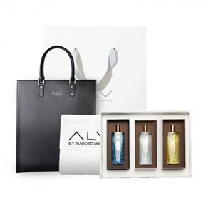 [설이왔소][ALV]에이엘브이 마르카라인 쇼퍼백,클러치백 + 카드지갑 세트 / 향수 세트 이미지