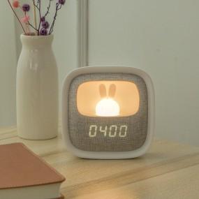 [코비]인테리어 조명 무드등 무선 무소음 알람시계 Rabbit LED 이미지