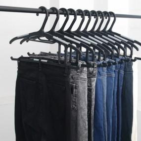 [해피홈] 상하의 바지 멀티 오닉스 옷걸이 1.0 이미지