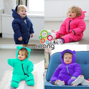 [에이봉] 폭신하고, 따뜻한 아기우주복 방한 패딩우주복  출산선물로 제격! 이미지