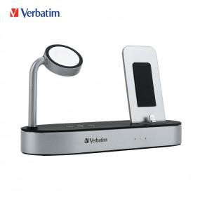 [Verbatim] 버바팀 4 in 1 애플워치 무선충전 스탠드 에어팟 아이패드 아이폰 충전독 이미지