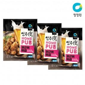 청정원 안주야 홈펍 닭근위튀김 220g x 3개 이미지
