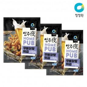 청정원 안주야 홈펍 무뼈닭발튀김 220g x 3개 이미지