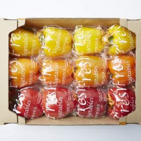 GAP 인증 스마트팜 과일 파프리카 2.5kg (빨강+노랑) [써니너스] 이미지
