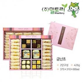 [설이왔소] 밀토리 한과 선물세트(금난초/꽃창포 1,2,3호) 이미지