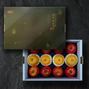 [설이왔소][무명상회 자연직송] 사과배 혼합세트 2호(실속형) 이미지
