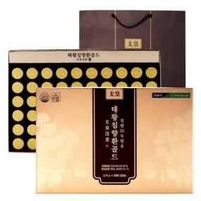 [충북인삼농협] 태황 침향환 골드 3.75g x 60환 + 쇼핑백 이미지
