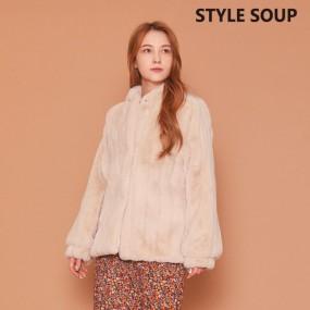 [SOUP] 벌룬 슬리브 에코퍼 재킷 이미지