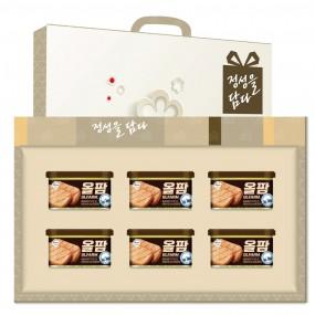 [설이왔소] [신세계푸드] 올팜 6종 선물세트+손잡이케이스 이미지