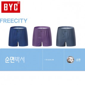 [BYC] 남성 프리시티 3매입 트렁크팬티(Y2036) 이미지