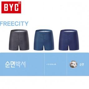 [BYC] 남성 프리시티 3매입 트렁크팬티(Y2026) 이미지